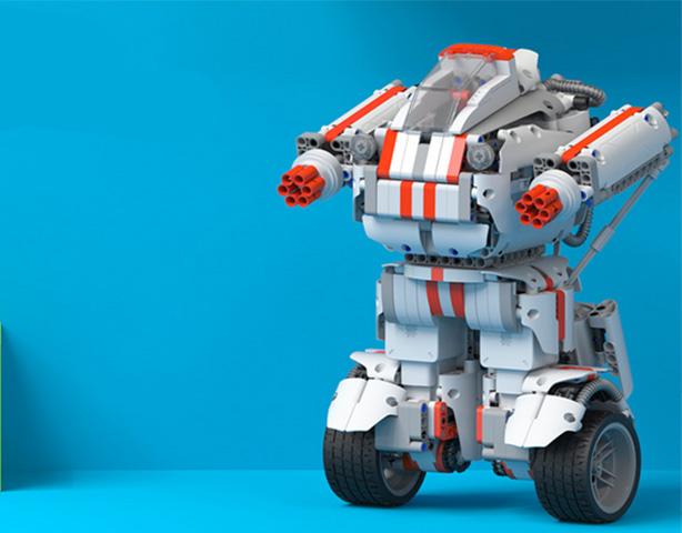 小米米兔积木机器人 延时组装 实录