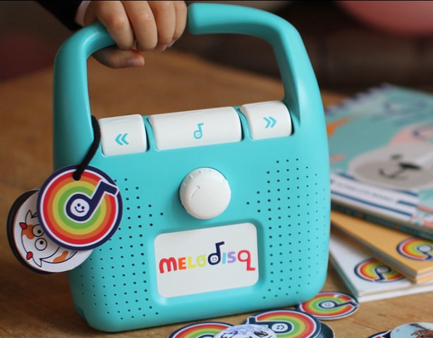 Melodisq 儿童无屏音乐播放器