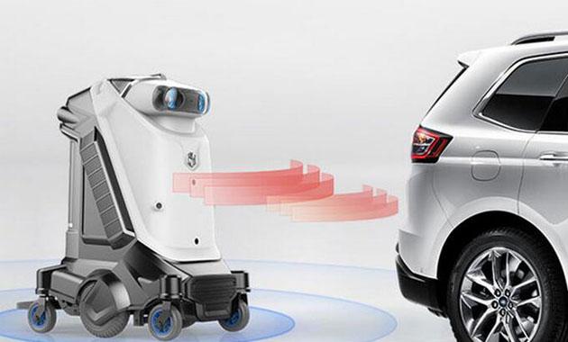 哈帝智能汽车服务机器人