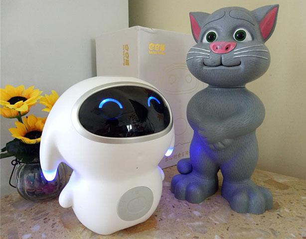 巴巴腾智能儿童机器人-----让爱和陪伴不再遥远